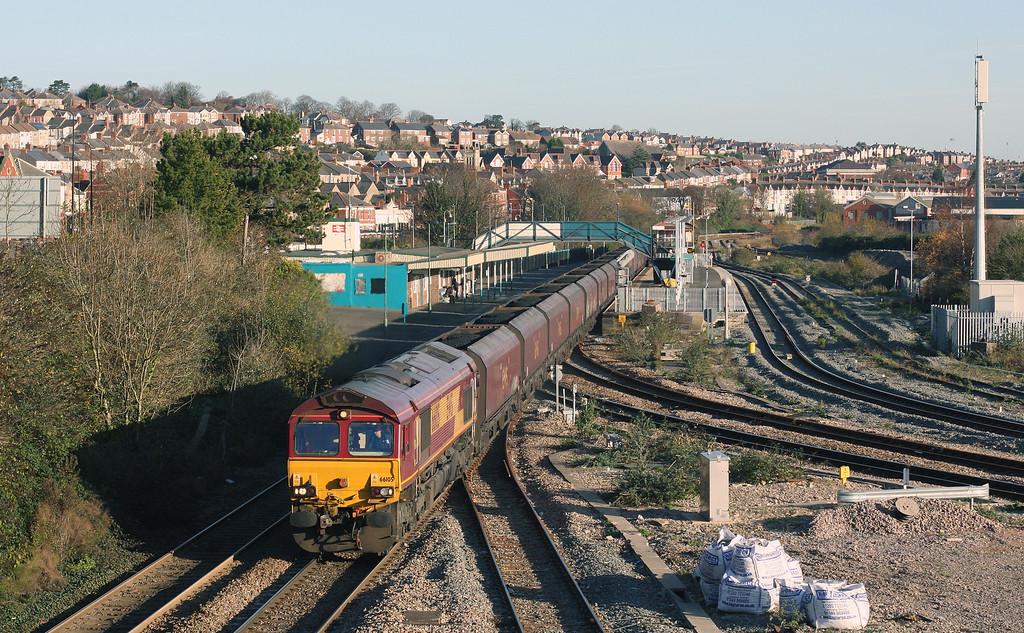 66105, 08.07 Avonmouth Bulk Handling Terminal-Aberthaw Power Station, Barry, 3-12-14.