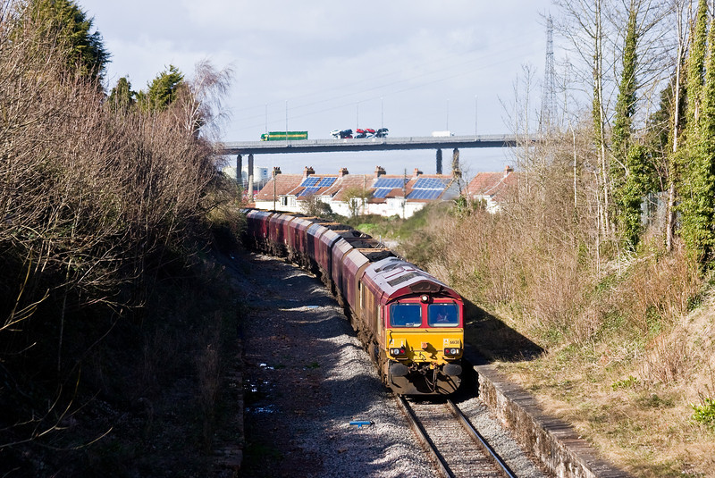 66138, 12.55 Portbury Coal Terminal, Pill-Ratcliffe Power Station, Pill, near Portbury, 26-2-14.