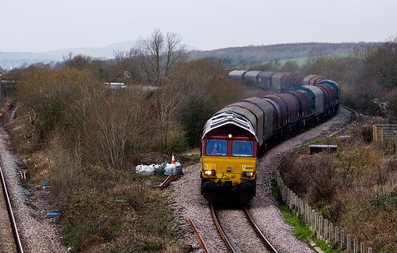 66033, 12.02 Margam-Round Oak, Llandevenny, near Llanwern, 14-1-14.