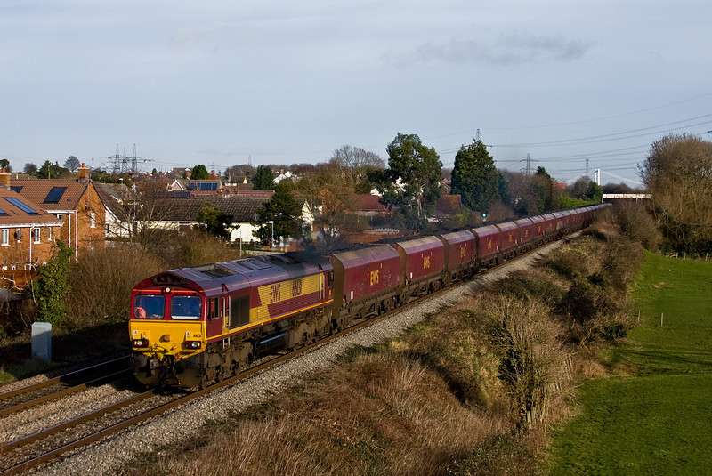 66131, 03.53 Redcar BSC Ore Terminal-Margam, Portskewett, near Caldicot, 14-1-14.