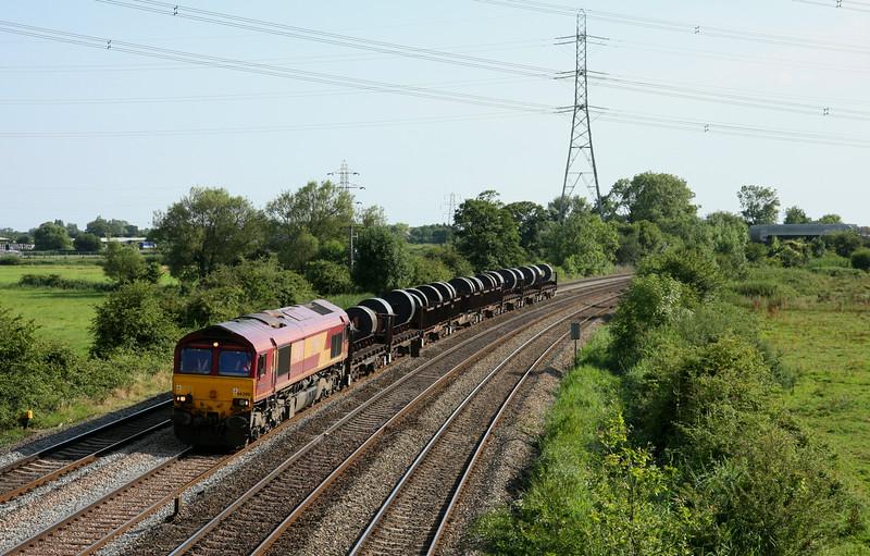 66200, 16.16 Margam-Hartlepool, Duffryn, Newport, 22-7-14.