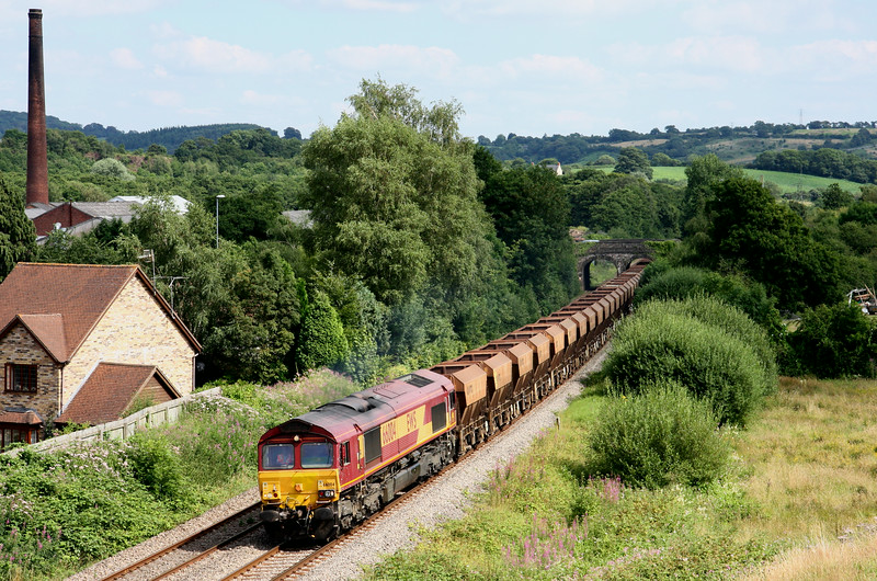 66004, 10.39 Acton-Moreton-on-Lugg, Ponthir, near Newport, 22-7-14.