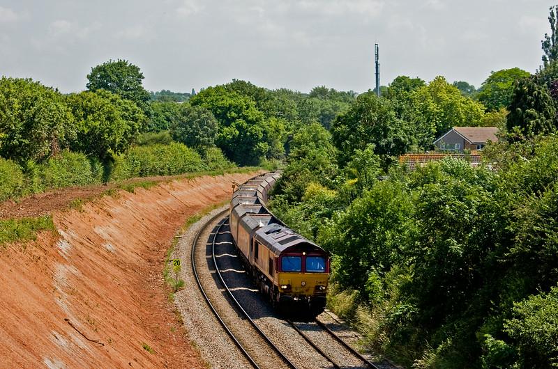 66027, 09.50 Aberthaw Power Station-Avonmouth Bulk Handling Terminal, Henbury, Bristol, 2-7-14.