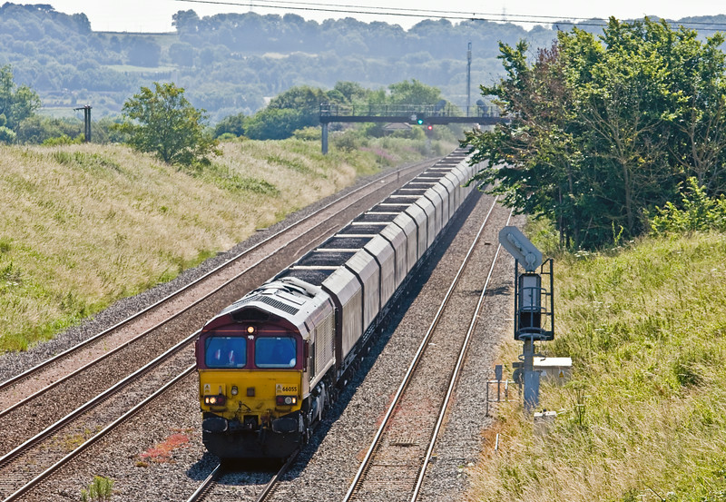 66055, 09.24 Avonmouth Bulk Handling Terminal-Aberthaw Power Station, Pilning, 2-7-14.