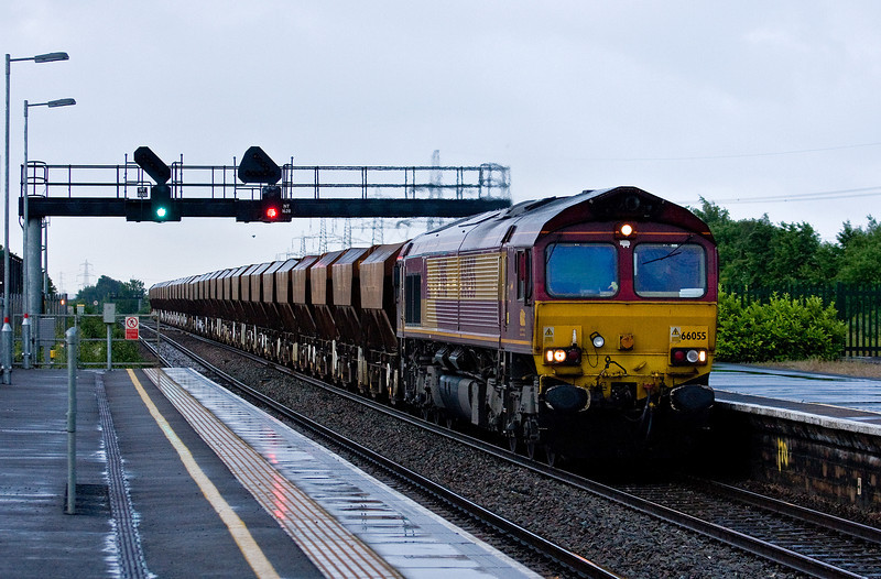 66055, 15.28 London Acton-Moreton-on-Lugg, Severn Tunnel Junction, 10-6-14.