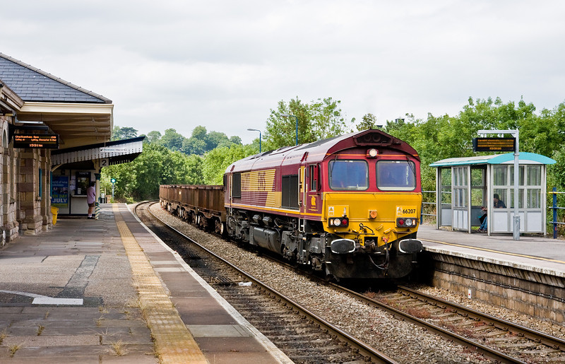 66207, 10.07 Corby BSC-Margam, Chepstow, 19-6-14.