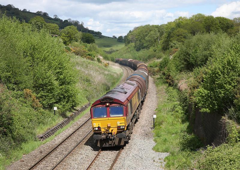 66075, 09.30 Dee Marsh-Margam, via Llanwern, Llanvihangel Crucorney, near Abergavenny, 14-5-14