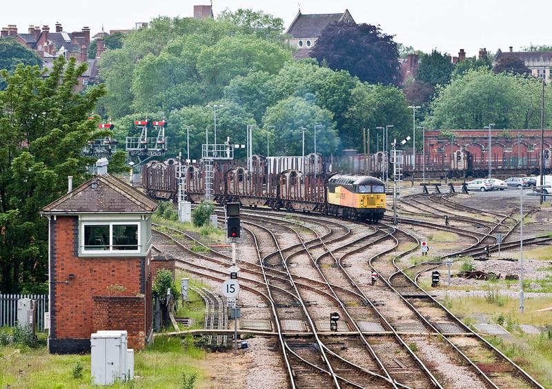 56094, 14.15 Chirk Kronospan-Carlisle Yard Abbey Foregate Junction, Shrewsbury, 31-5-14.