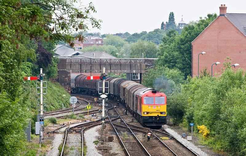 60015, 09.16 Dee Marsh Reception Sidings-Margam, Sutton Bridge Junction, Shrewsbury, 31-5-14.