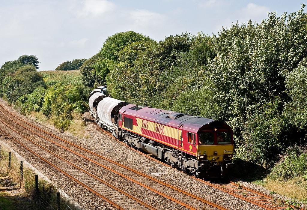66080, 12.29 Parkandillack-Exeter Riverside Yard (terminated at St Blazey Yard), Burngullow, 3-9-14.