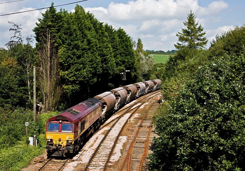 66080, 12.29 Parkandillack-Exeter Riverside Yard (terminated at St Blazey Yard), Par, 3-9-14.