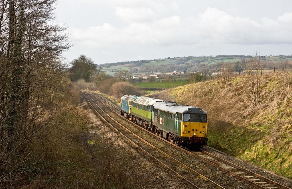 31601/47701/33103, 10.12 Meldon Quarry-Taunton, Whiteball, 2-2-15.