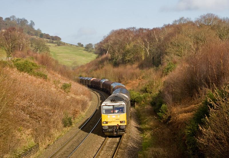 60099, 09.30 Dee Marsh-Margam, Llanvihangel Crucorney, near Abergavenny, 8-1-15.
