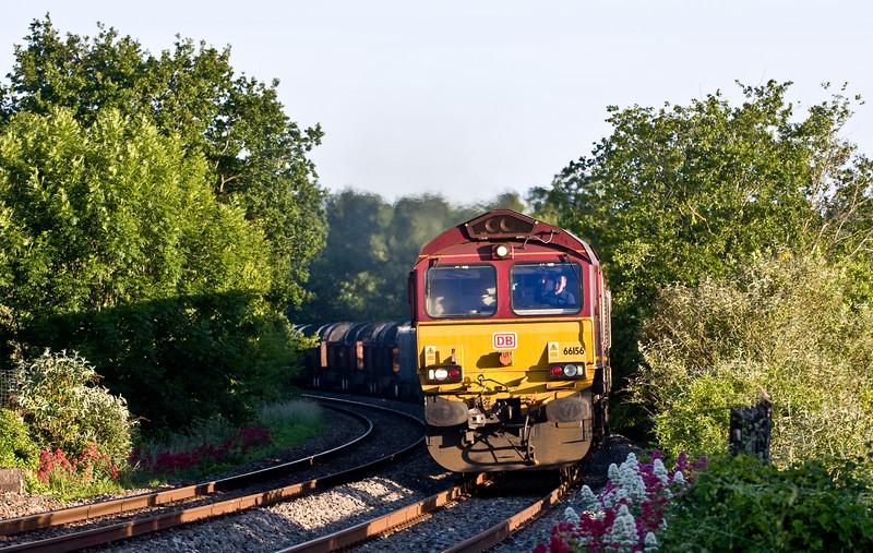66156, 16.21 Margam-Hartlepool, Bullo Pill, near Newnham, Gloucestershire, 18-6-15.