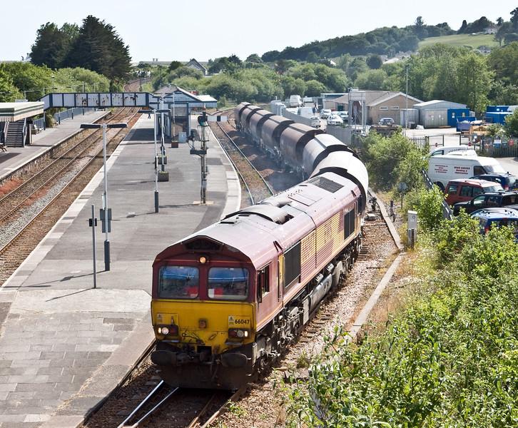 66047, 15.06 St Blazey-Exeter Riverside Yard, Par, 4-6-15.