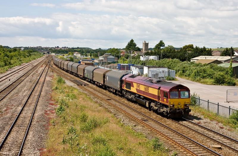 66015, 10.00 Margam-Dollands Moor Sidings, Severn Tunnel Junction, 23-6-15.