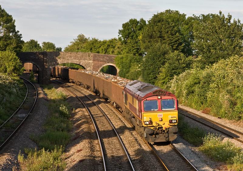 66096, 14.00 Handsworth Queen's Head Siding-Cardiff Tidal Yard, Magor, 23-6-15.