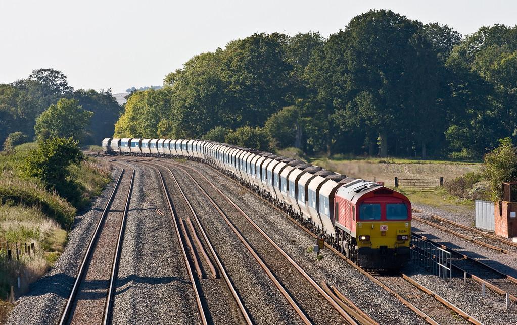 59204, 13.30 Whatley Quarry-Dagenham Dock ARC, Woodborough, 1-10-15.