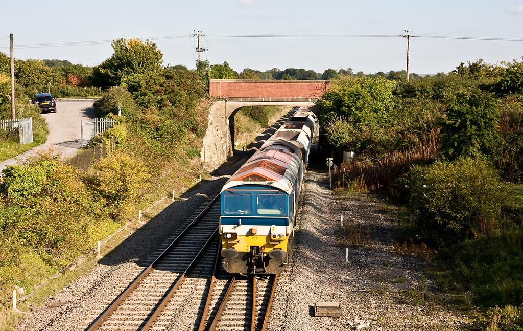 59103, 11.20 Allington ARC Siding-Whatley Quarry, Woodborough, 1-10-15.