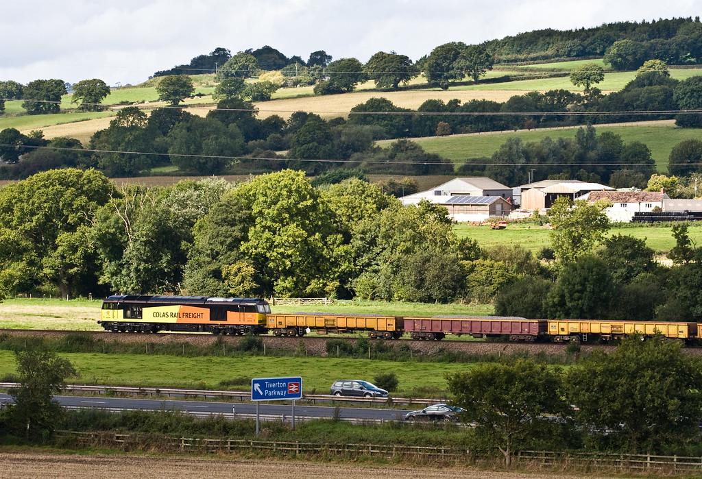 60096, 09.44 Westbury-Par, Pugham Crossing, near Burlescombe, 12-9-15.