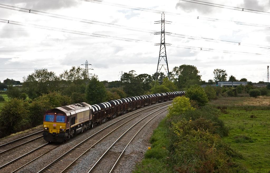 66002, 13.53 Margam Yard-Llanwern Exchange Sidings, Duffryn, Newport, 22-9-15.