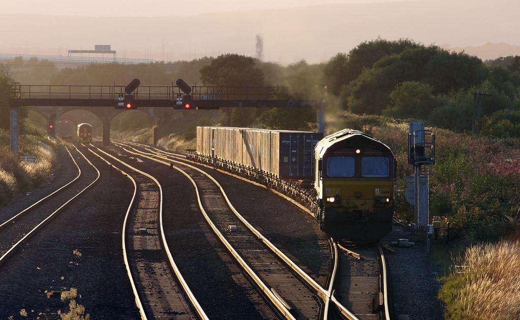 66116, 18.58 Newport Alexandar Dock Junction Yard-Didcot Yard, Pilning, 9-8-16.