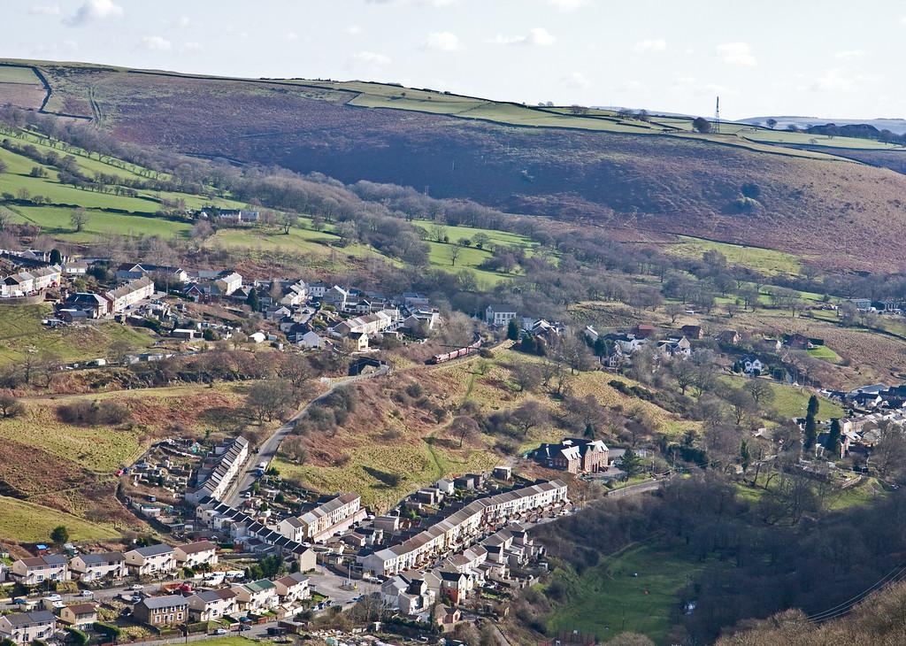 66136,  00.22 Hope Earles Sidings-Cwmbargoed Opencast Colliery, Bedlinog, 15-2-16.