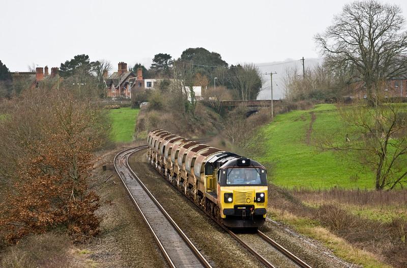 70808, 09.30 Truro-Westbury, Rewe, near Exeter, 31-1-16.