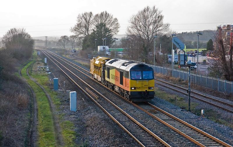 60047, 11.32 Truro-Westbury, Norton Fitzwarren, near Taunton, 22-1-16.