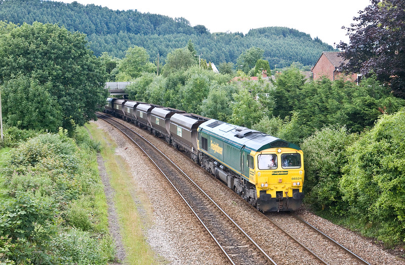 66524, 08.45 Tower Colliery-Aberthaw Power Station, Taff's Well, 13-7-16.