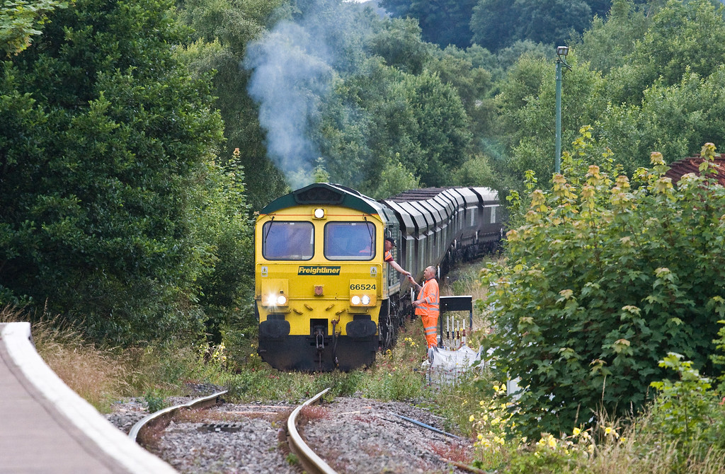 66524, 15.50 Tower Colliery-Aberthaw Power Station, Aberdare, 14-7-16.