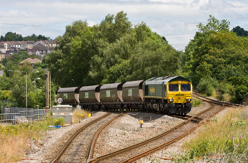 66595, 09.37 Tower Colliery-Aberthaw Power Station, Abercynon, 14-7-16.