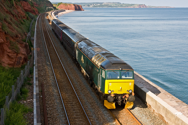 57605, 17.50 Exeter St David's-Penzance, Dawlish, 18-6-16.