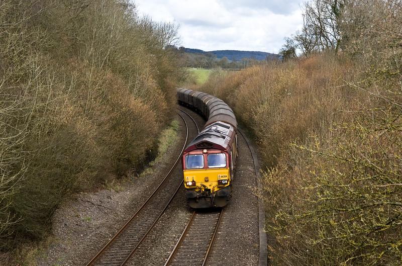 66204, 08.56 Round Oak-Margam, Awre, near Lydney, 7-3-16.