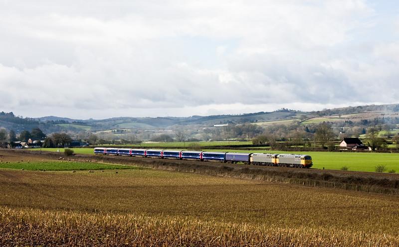 56104/56081, 09.53 Plymouth Laira T&RSMD-Kilmarnock Barclay Sidings, Rewe, near Exeter, 4-3-16,