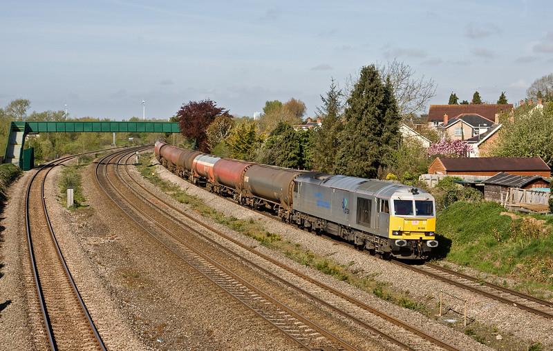 60066, 05.00 Robeston Sidings-Westerleigh Murco, Undy, near Severn Tunnel Junction, 4-5-16.