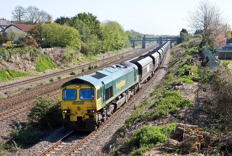 66509, 08.44 Avonmouth Bulk Handling Terminal-Aberthaw Power Station, Undy, near Severn Tunnel Junction, 4-5-16.