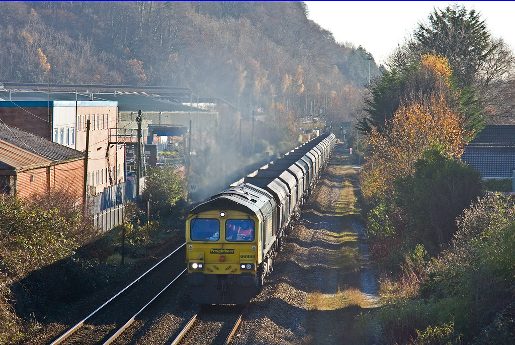 66955, 11.20 Aberthaw Power Station-Tower Colliery, Taff's Well, 30-11-16