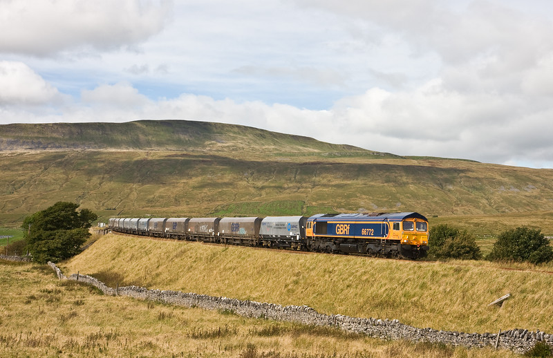 66772, 12.12 Arcow Quarry-Pendleton (Manchester), Ribblehead, 16-9-16.