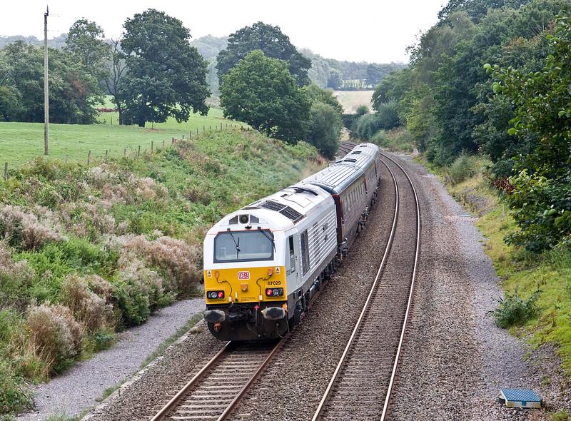 82146/67029, 08.40 Newport-Newport, via Westbury, Newtonb Abbot, and Bridgwater, Whiteball, 9-9-16.