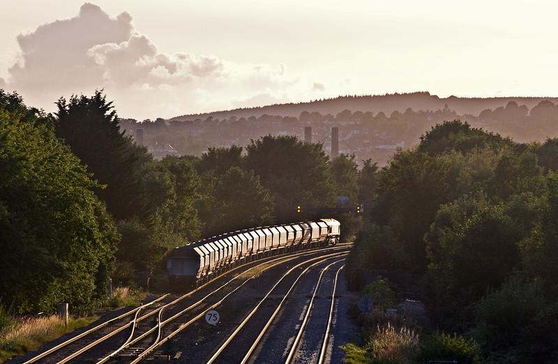 66047, 14.52 Acton Yard-Moreton-on-Lugg, Llanwern West Junction, 15-8-17.