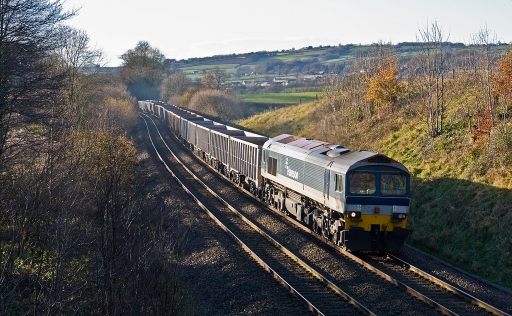 59101, 13.44 Exeter Riverside Yard-Whatley Quarry, Whteball, 11-12-17.