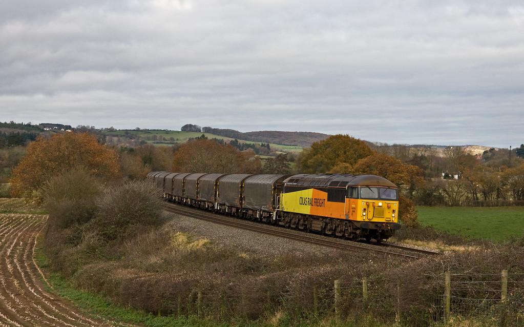 56096, 10.28 Washwood Heath-Llanwern, Box Farm, Awre, Gloucestershire, 4-12-17.