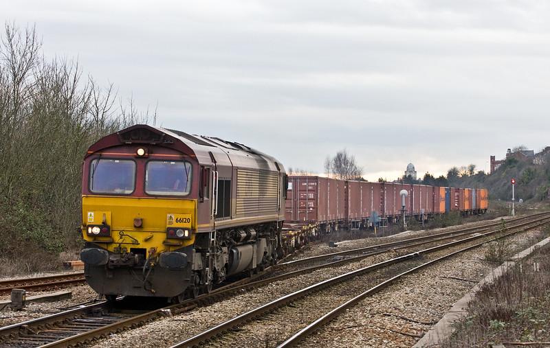 66120, 14.32 Barry Docks ABP Shipment-Newport Alexandra Dock Junction Yard, Cadoxton, 8-2-17.