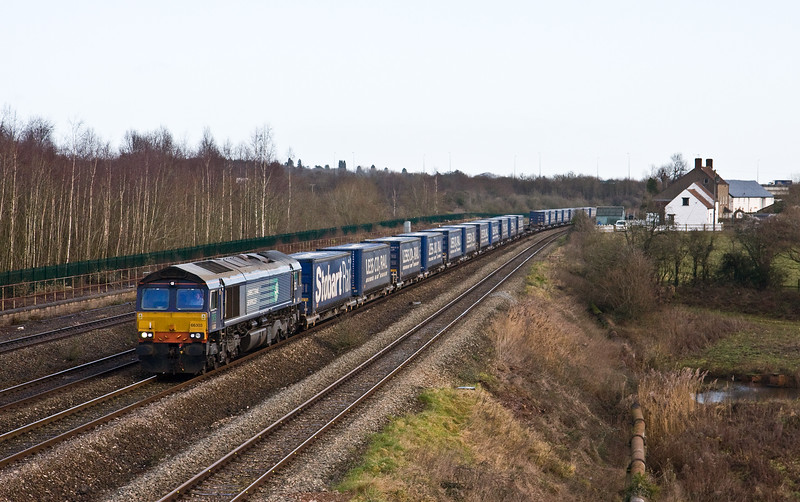 66303,  08.20 Daventry-Cardiff Wentloog, Undy, 13-1-17.