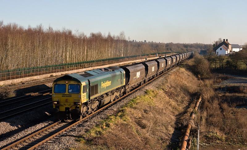 66506, 09.25 Avonmouth Bulk Handling Terminal-Aberthaw Power Station, Undy, 20-1-17.