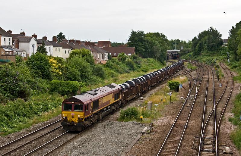 66103, 16.21 Margam-Hartlepool, Gaer Junction, Newport, 13-7-17.