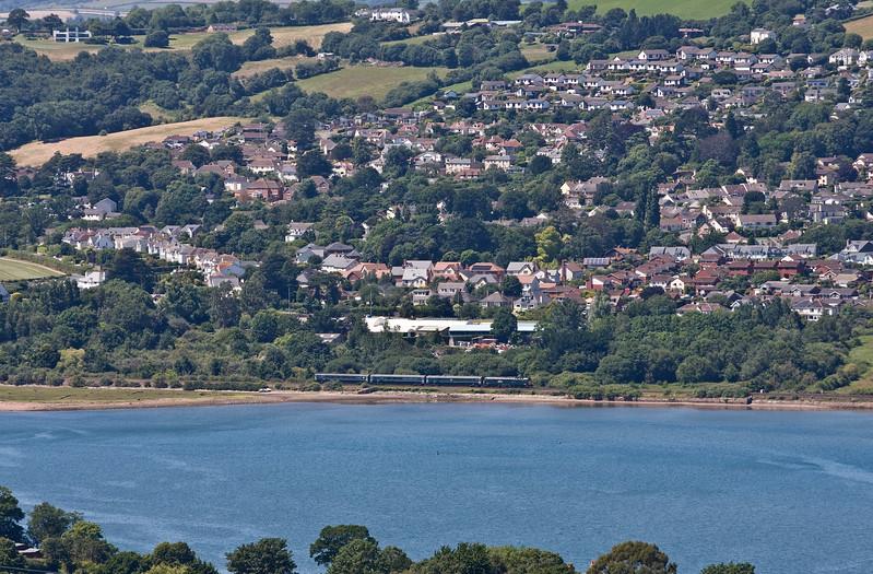 57602, 13.35 Plymouth-Exeter St David's, Bishopsteignton, near Teignmouth, 1-7-17.