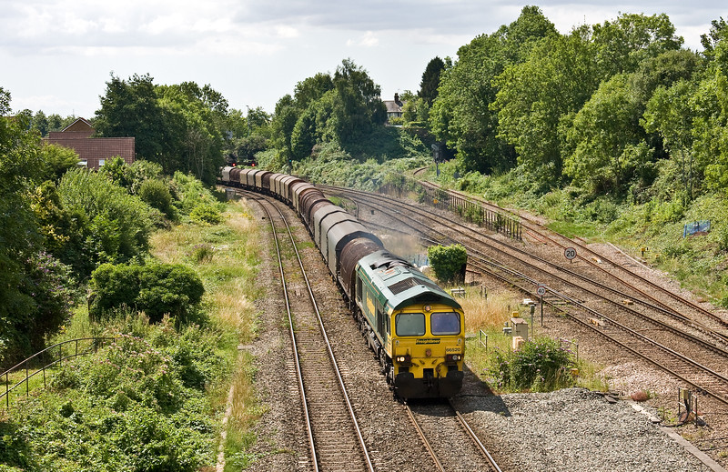 66520, 10.29 Margam-Dee Marsh, Gaer Junction, Newport, 24-7-17 (late).
