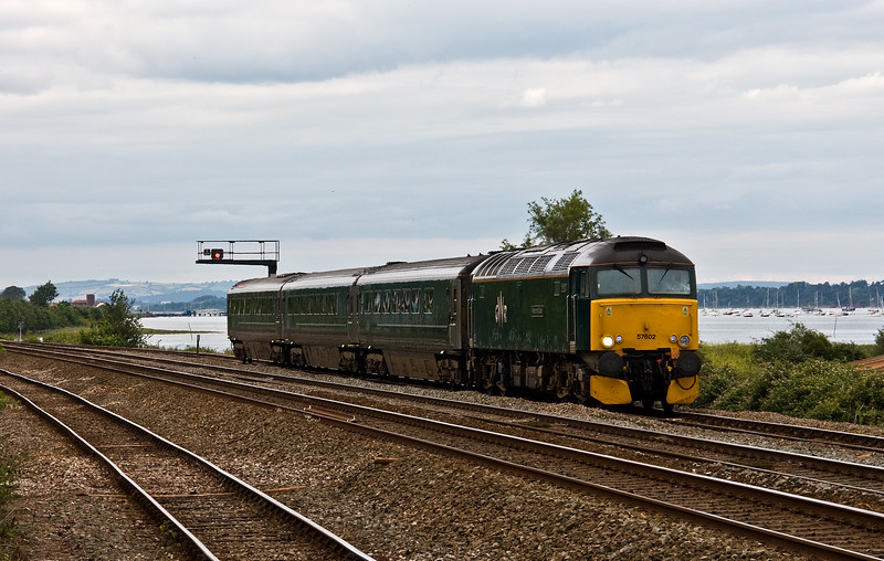 57602, 17.50 Exeter St David's-Penzance, Dawlish Warren, 8-7-17 (late).